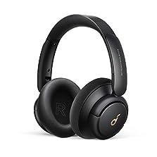 Soundcore by Anker Life Q30 Bluetooth Kopfhörer, Hybrid Active Geräuschisolierung, Individuelle Modi, Hi-Res Sound, EQ in App, 40h Akku, bequemer Halt, Verbindung von 2 Geräten (Schwarz)©Amazon