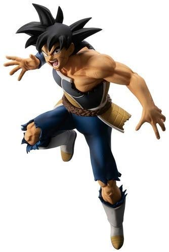 Banpresto kuji Dragon Ball Saiyan battle last one Prize Bardock 18 Figure 16cm