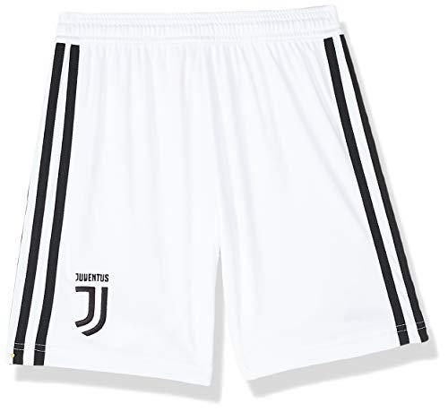 adidas Kinder Juve H Y Shorts, Jungen, Kurze Sporthose, CF3498, Bianco, 13-14