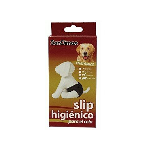 Slip anatómico / braguita higiénica para perras (para el celo) TALLA L 38 a 50 cm