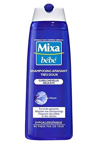 Mixa Bébé Sanfte beruhigende Shampoo Tras skalpiert à © Licats In Cornflower 250 ml (4 Stück)