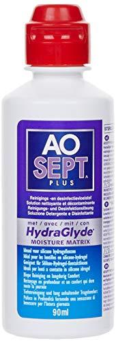 Aosept Plus mit Hydraglyde Pflege-Set, Reiseset, 90 ml (1er Pack)