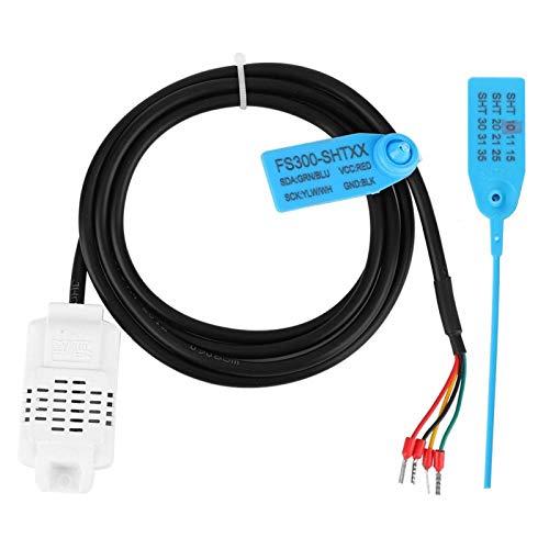 Sensor de temperatura de humedad digital, sensor de temperatura Sensor de suelo Sensor de humedad de suelo digital Sonda Sensor de bajo consumo, para macetas de césped de jardín(SHT10)