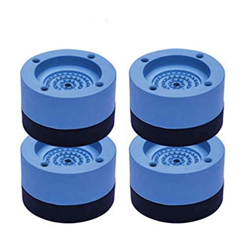 QKFON 4 Stück Waschmaschinen-Gummi-Pads Waschmaschine Kühlschrank Mute Gummimatte Anti-Vibrations-Anti-Shock-Pad für Trockner große Geräte Kühlschrank