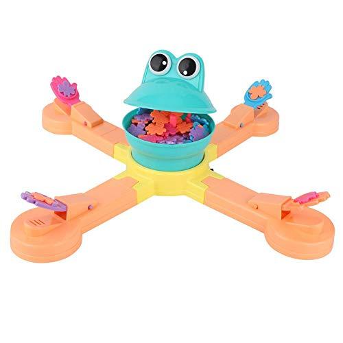 Educatief speelgoed voor jonge kinderen, Educatieve kinderen Bordspellen Grappige kikkers Eetspel Speelgoedset Cadeaus voor kinderen - Speelgoed voor vroege ontwikkeling van kinderen van 3-6 jaar Jo