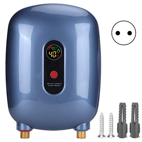 Calentador de agua, resistente y duradero, calentador de agua eléctrico Calentamiento instantáneo de agua(European standard 220V)