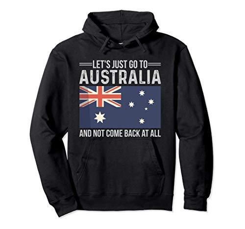 Australische Flagge Fahne Australien Urlaub Geschenk Spruch Pullover Hoodie