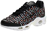 Nike Wmns Air MAX Plus Se, Zapatillas de Gimnasia Mujer, Negro (Black/Black/White/Total Orange 007), 41 EU