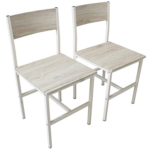 YELLOO Set 2 Sedie Bar Beige Mobili Cucina Arredamento MOD. Portofino