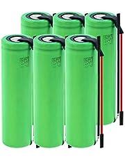 THENAGD 3.6v 2600mah High Genuine Us18650 Vtc5a Batería, BateríAs Recargables DIY para Linterna 6PCS