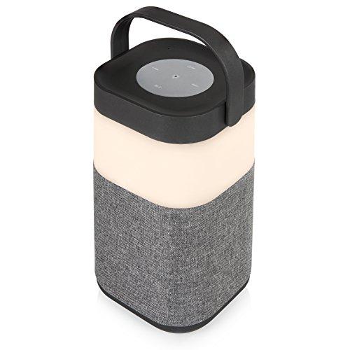 Akai Sound Cannon luidspreker lantaarn, led-luidspreker. zilver
