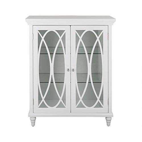 Elegant Home Fashions TYG-62352 Lombard Double Door Floor Cabinet