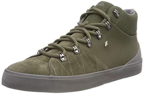 Boxfresh Herren DEXIOS Hohe Sneaker, Grün (Khaki KHA), 43 EU