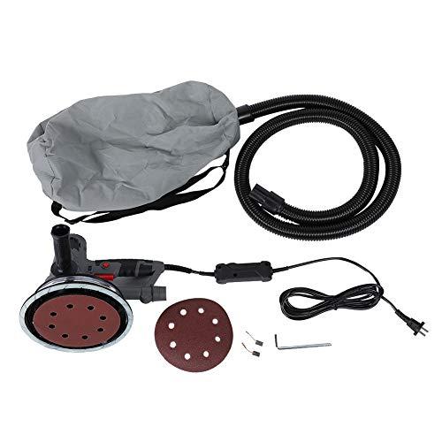 AUNMAS Handheld elektrische variabele droogbouwslijper LED lichtstrip wand vlakke slijpmachine met vacuümsysteem CN-stekker 220 V 750 Watt