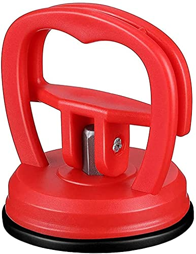 Paintless Dent Removal Tools Cup Car Dent Ding Remover Repair Puller Sucker Bodywork Panel Suction (red)