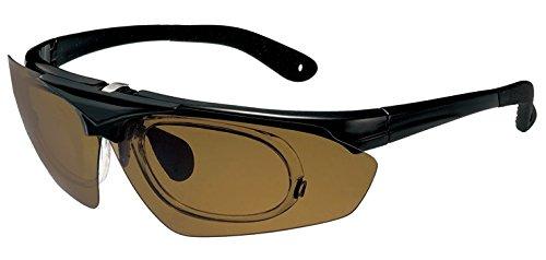 品 偏光サングラス 跳ね上げ式 [PPS] (1B:ブラウン) メンズ レディース サングラス 跳ね上げ式 スポーツサングラス インナーフレーム付き