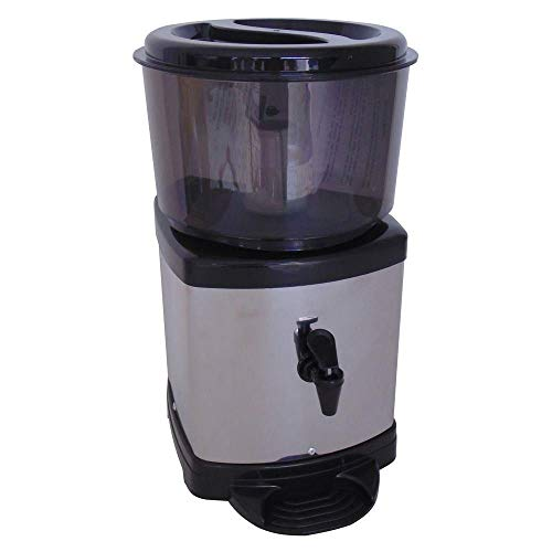 Filtro Agua Purificador Inox Base de Barro Preto Com Vela E Bóia Acquamar