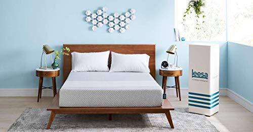 Leesa matras Modern design 90 x 200 cm grijs.