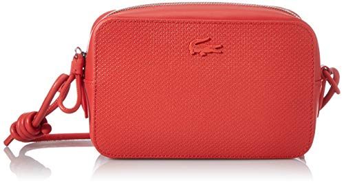 Lacoste Nf3212ce - Bolso de Hombro para Mujer, Rojo (Energía), Talla única