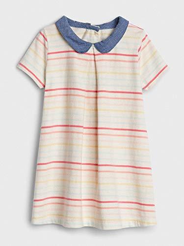 Vestido Listrado Gap Estilo T-Shirt 06-12 M