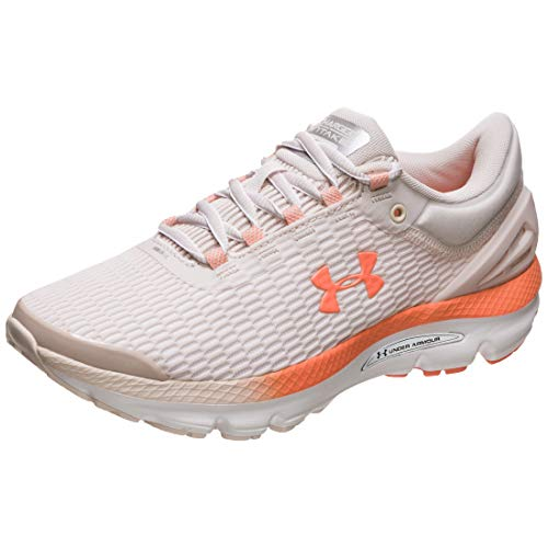 Under Armour Charged Intake 3 Zapatillas de Running Mujer, Rosa (Apex Pink 800), 44.5 EU