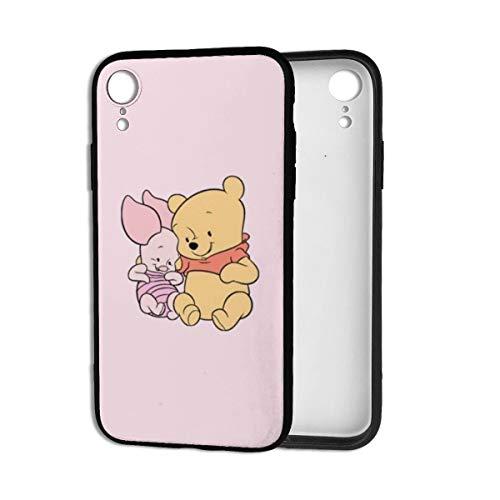 ZXHGLL Coque de Protection arrière Souple en TPU pour iPhone XR Motif Winnie l'ourson