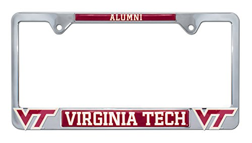 Virginia Tech University 3D 'Alumni' License Plate Frame