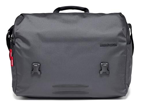 Manfrotto Manhattan Messenger Speedy 30 Camera Bag, Multiuse, for Carrying Camera and Accessories, in Water-Repellent Material, Photography Bag with PC and Tablet Compartment, with Tripod Holder