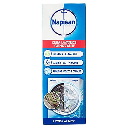 Napisan Cura Lavatrice Igienizzante, Additivo Igienizzante Lavatrice, Flacone da 250 ml