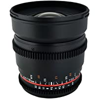 Rokinon 16mm T2.2 Wide Angle Cine Lens for Micro Four Thirds