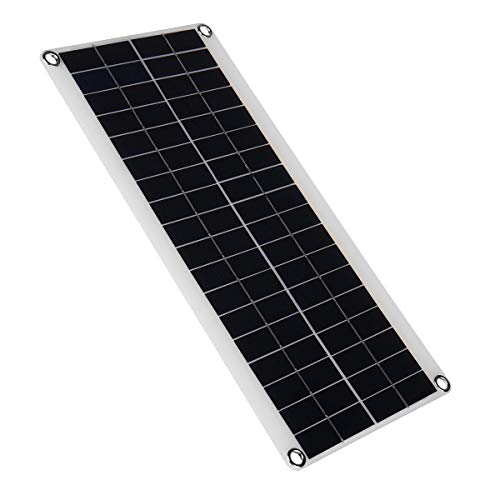 SHANG-JUN Fácil de Montar Panel Solar Semi-Flexible con Cable para vehículo Todoterreno Trabajando al Aire Libre 18V 15W 410mm * 200mm * 3mm Conveniente