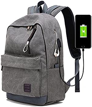 Hoperay Laptop Backpack with USB Charging Port