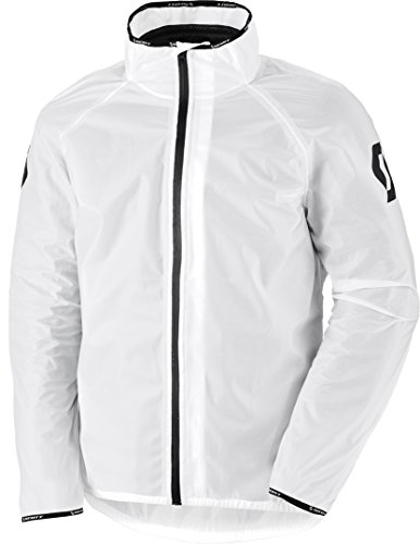 Scott Ergonomic Light DP Motorrad/Fahrrad Regenjacke weiß 2020: Größe: XXXL (58/60)