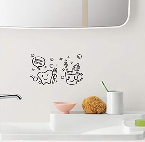 Die neue Zahnbürste Badezimmer Toilettenpapier Großhandel Benutzerdefinierte Hintergrundwand wasserdicht kann entfernt werden