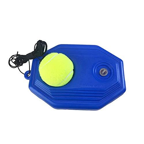 Self-Study Tennis Rebound Power Base Tennis Trainer Tool with Tennis Ball Tennis Practice Training Kids Aid Youth Tool CUEYU Tennis Baseboard