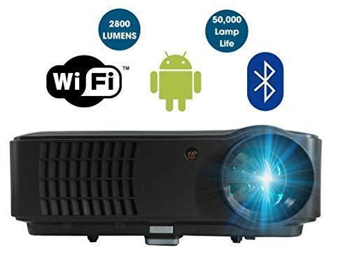 Proyector de alta definición SMART conexión WiFi Proyector HD 720 ...