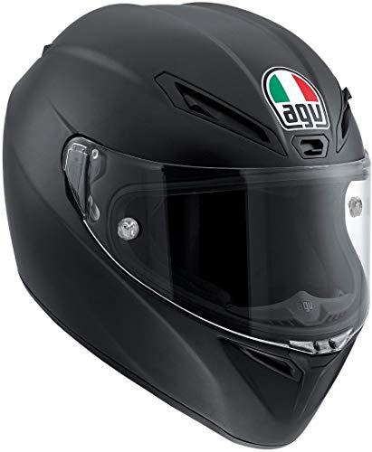 AGV Casco Moto Veloce S E2205 Solid PLK, Matt Black, S