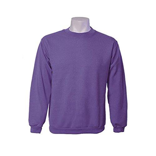 Jumar Sport - Sudadera básica, Color: Violeta, Talla: s