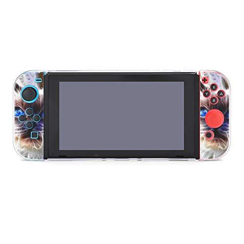 Carcasa protectora para Nintendo Switch, diseño abstracto de ojos azules y ojos azules