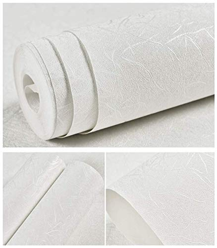 White Wallpaper Peel and Stick Wallpaper 15.7 X 118 Self Adhesive Embossed White Removable Kitchen Wallpaper Vinyl Film White Wallpaper Cabinet Furniture Countertop Silk Shelf
