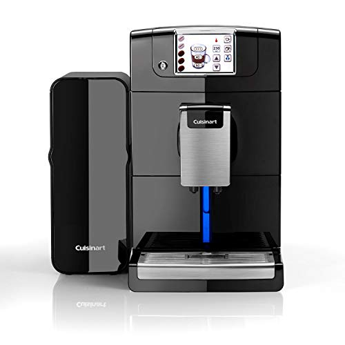 Cuisinart Veloce Bean-to-Cup Coffee Machine | Built-In Automatic Milk Frother And Burr Grinder | EM1000U
