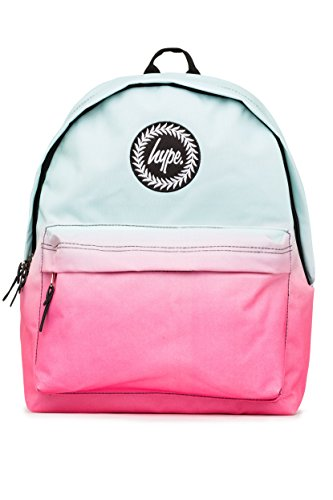 HYPE Mint Fade Backpack Mint/Pink Schoolbag BTS17006 Hype bags