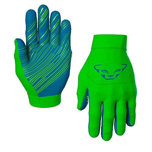 DYNAFIT Upcycled Thermal Gloves Grün, Polartec Fingerhandschuh, Größe L - Farbe Lambo Green