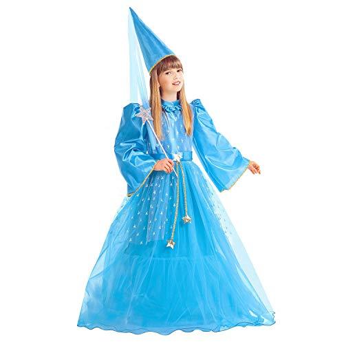 WIDMANN Disfraz de Hada mágica para niñas - Talla para 11/13años