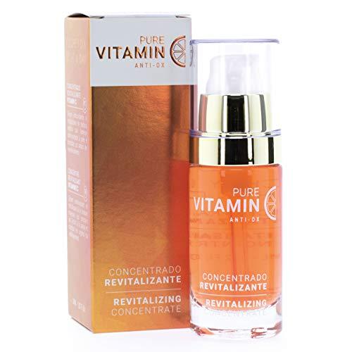 Noche Y Día Serum Concentrado Revitalizante Con Vitamina C - Pure Vitamin Anti-Ox, 30 Mililitro