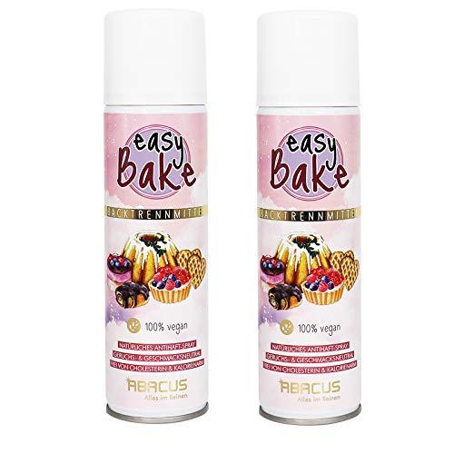 ABACUS 2X 200 ml Easy Bake Backtrennspray/Backtrennmittel vegan (7626.2)