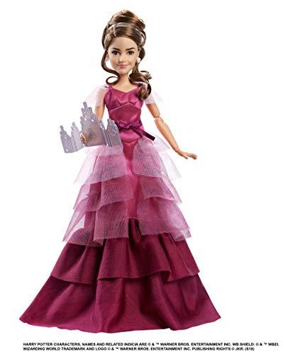 Mattel GFG14 - Harry Potter und der Feuerkelch Weihnachtsball Hermine Granger Puppe gelenkig, Spielzeug ab 6 Jahren