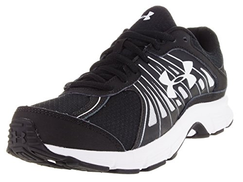 Under Armour Women's Dash RN, Black/Black, 8 B