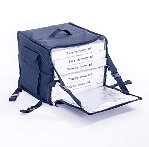 Mochila de entrega de alimentos bolsa de ciclo de mensajero aislado pizza llevar mochila bolsas de entrega T18