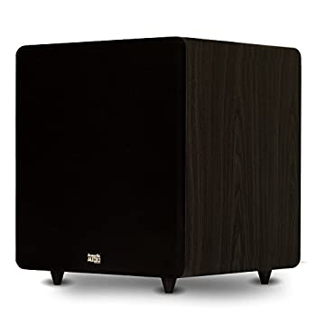 Acoustic Audio PSW600-15 Home Theater Powered 15  LFE Subwoofer Black Front Firing Sub